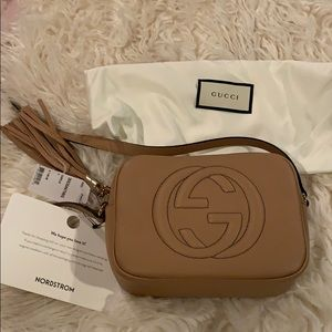 New Gucci Disco Leather bag